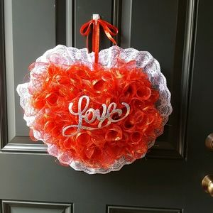 Sweetheart Valentine's Door Wreath